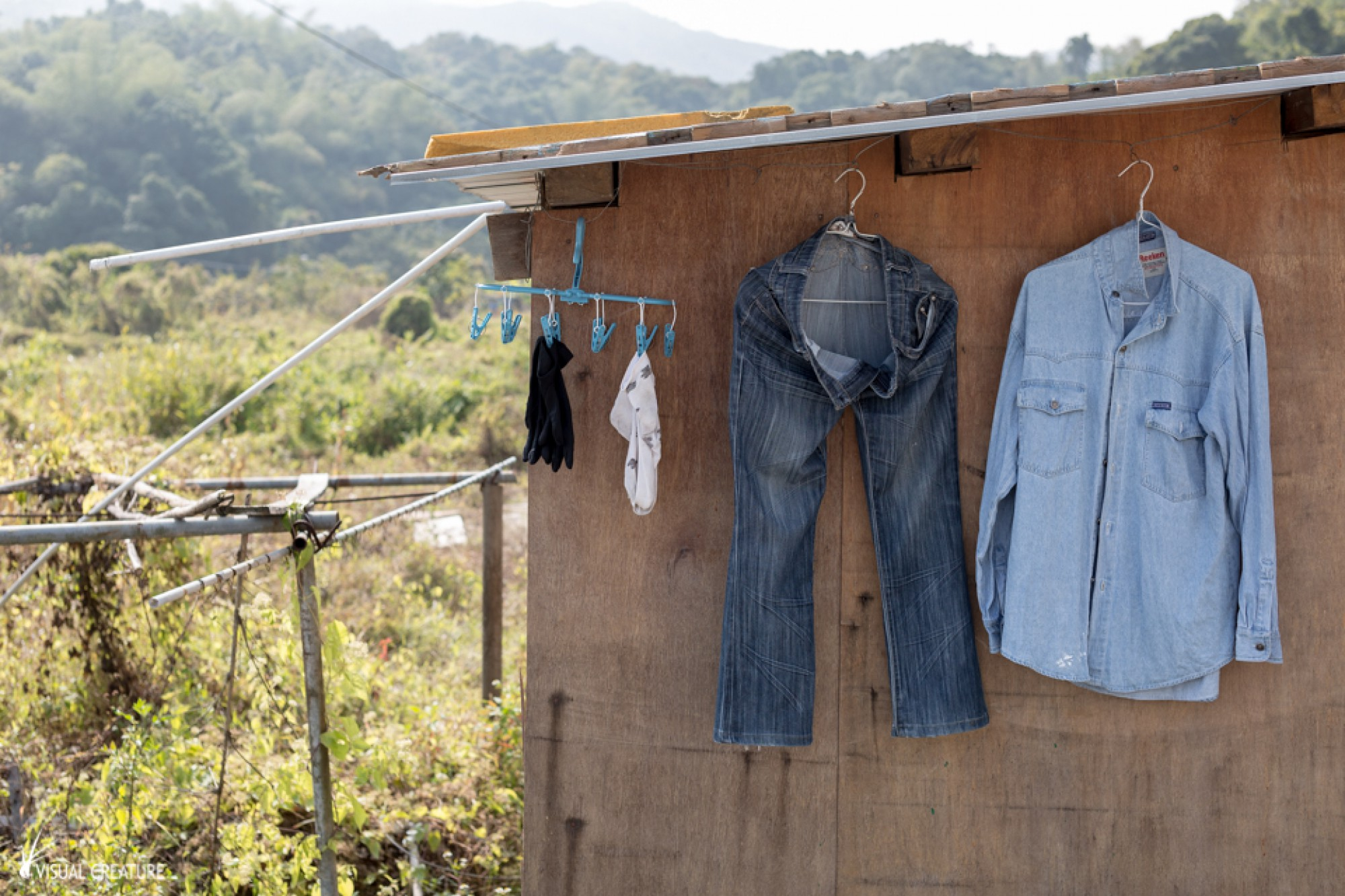 The other side of Hong Kong: Village Life
