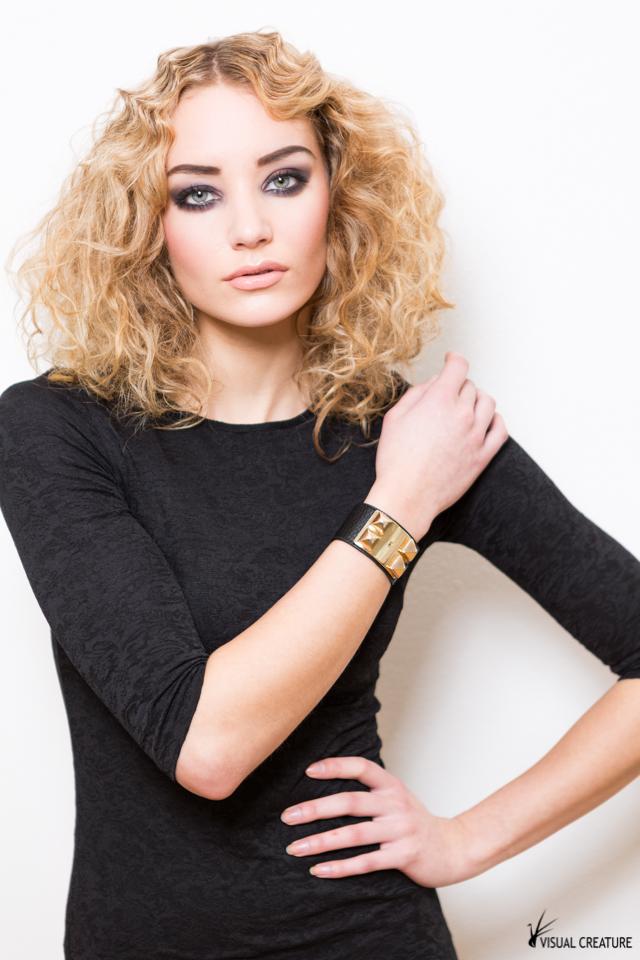 Faith @ SQ Models, make-up & hair by Anna Wojnarowska @ X-Styling