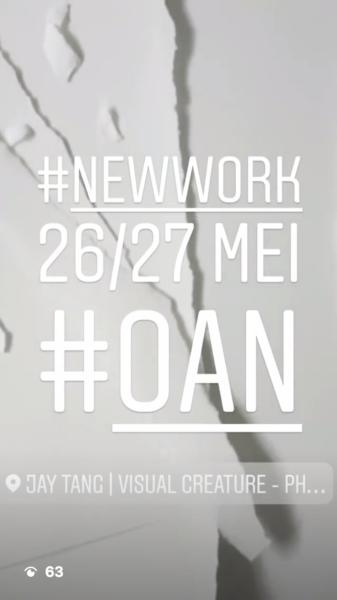 Sneak peek of new work to be shown at OAN 2018