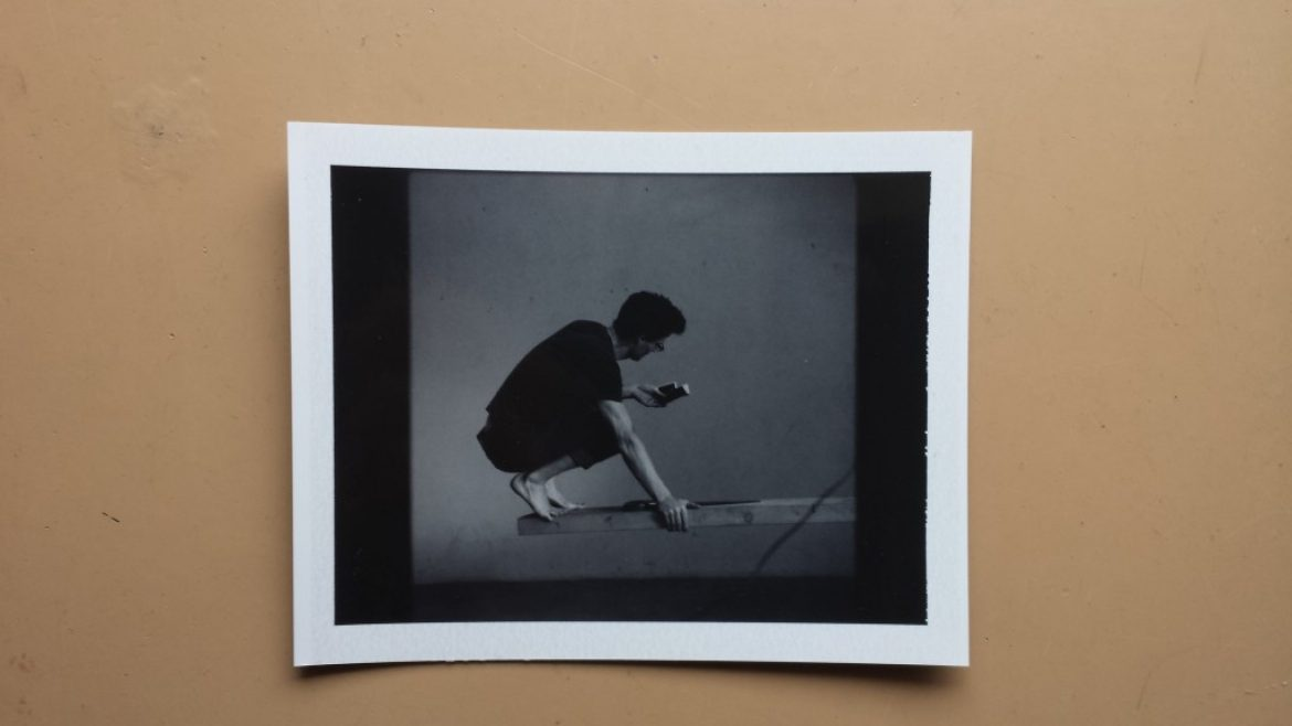 Today's Polaroid: A scene from Rogier Alleblas' work