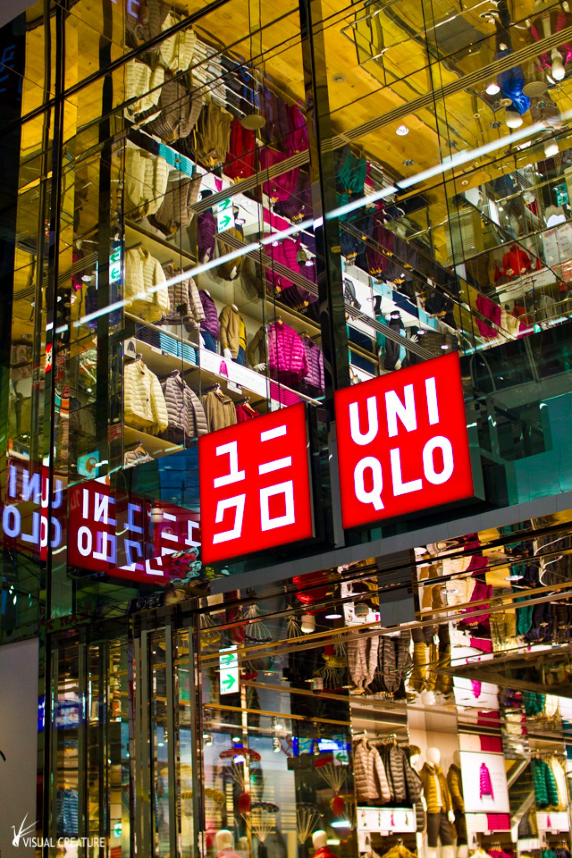 Japan Revisited: Colourful UNIQLO Osaka