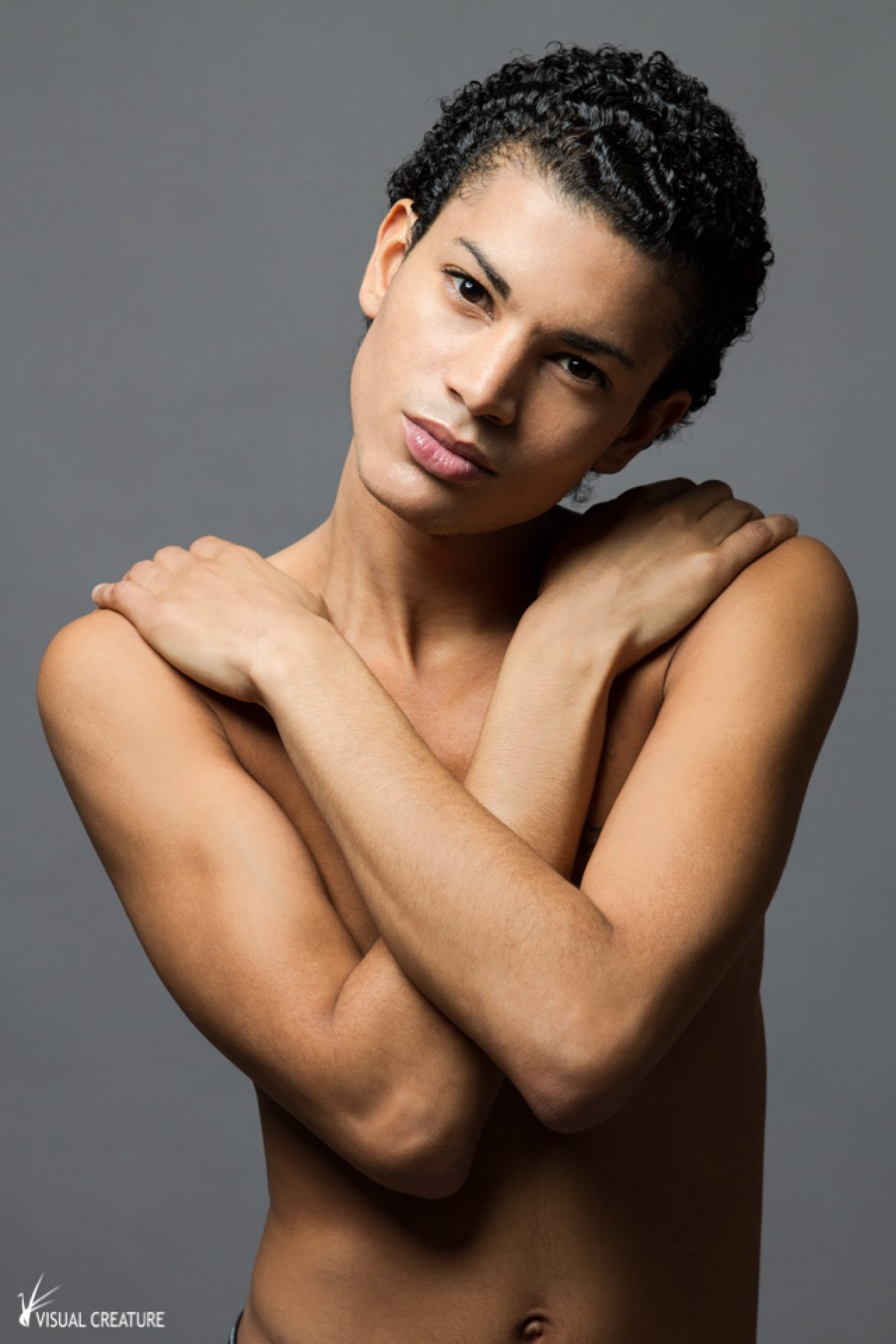 Singulars: Androgynous model