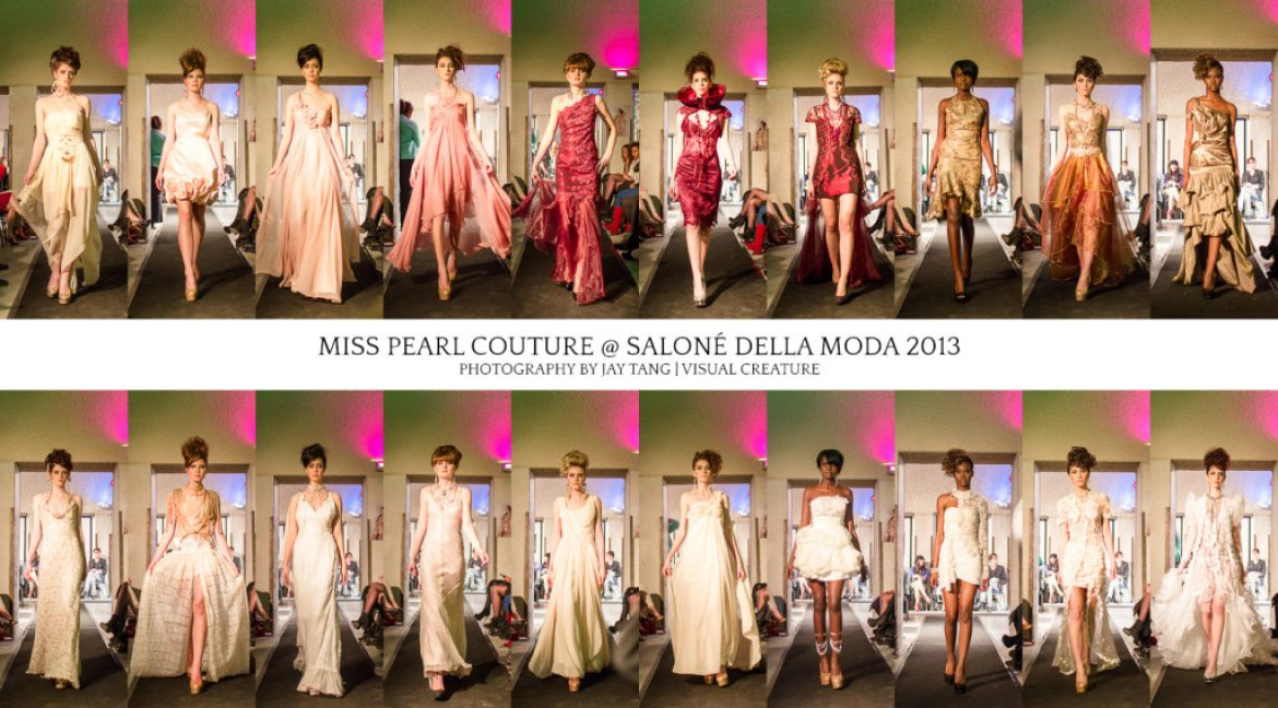 Miss Pearl Couture at Salonè Della Moda 2013