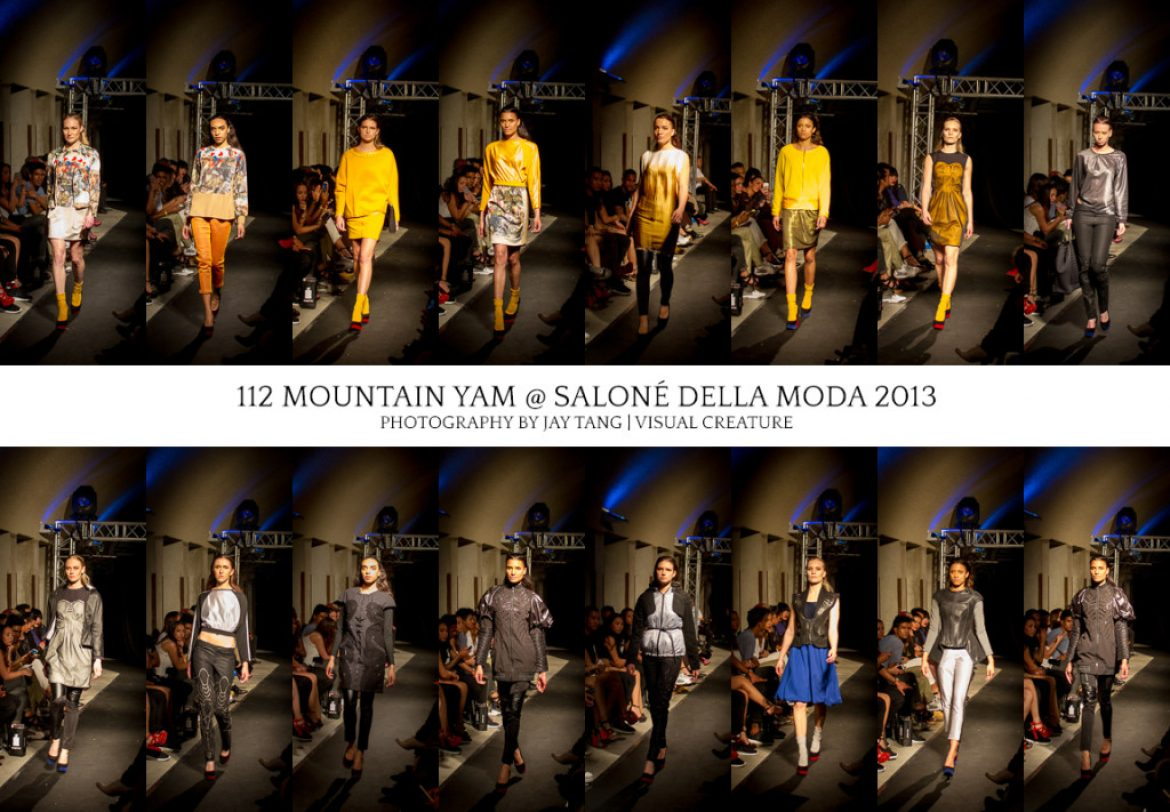 Mountain Yam at Salonè Della Moda 2013