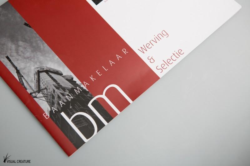 Baanmakelaar brochure design