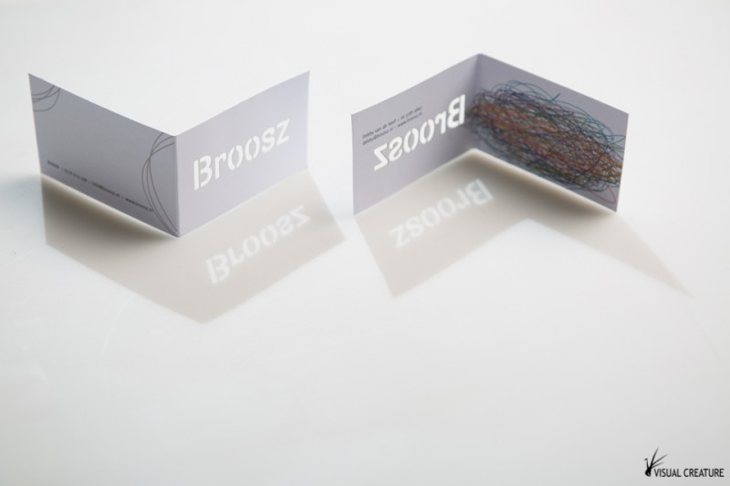 Broosz: Custom made business cards