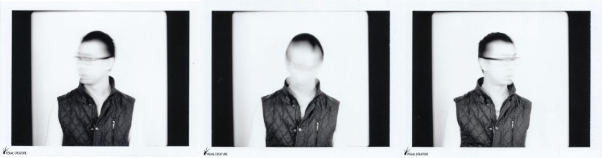 Today's Polaroid: Three Blurred Faces