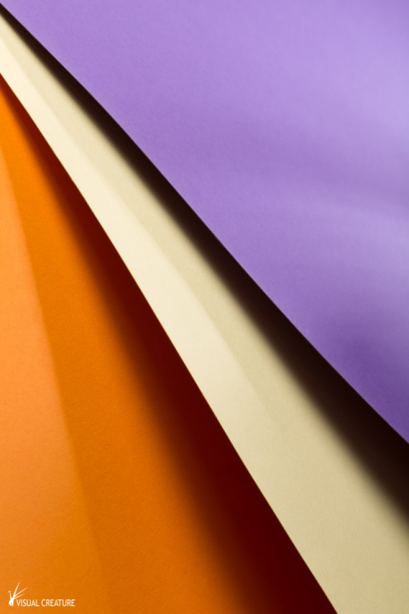 Purple, Yellow & Orange