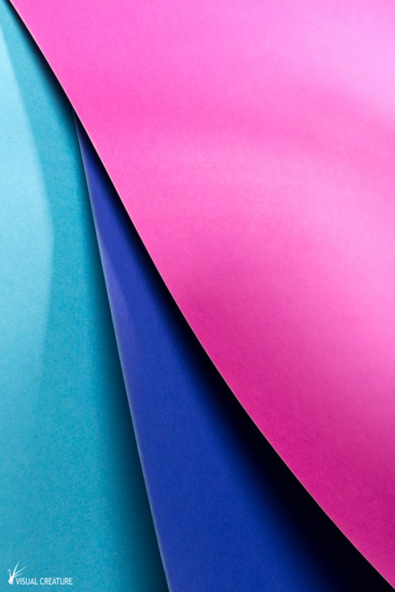 Pink, Blue & Cyan