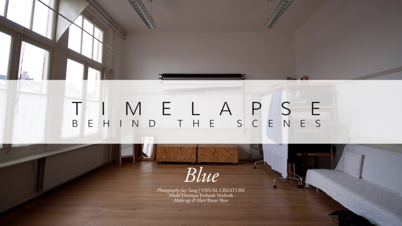 Timelapse: Behind the scenes – Blue