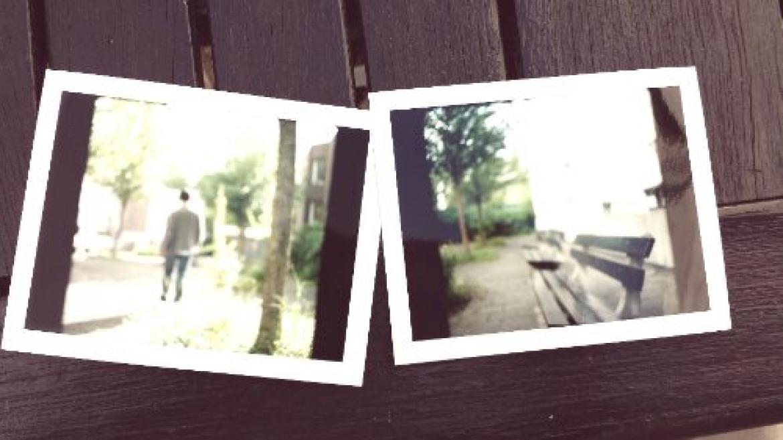Today's Polaroid: Back to Fa Yin School